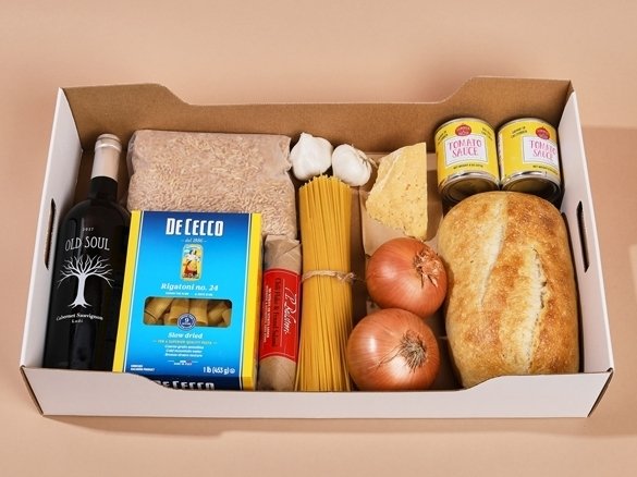 During this critical time where getting simple everyday food and household items can be difficult, we're offering grocery boxes for delivery and pickup at our California locations.